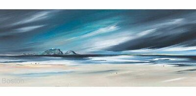 Giclée Print of Last Light at Yellowcraigs by Kirsten Boston
