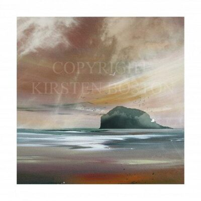 Giclée Print of Bass in the Mist by Kirsten Boston